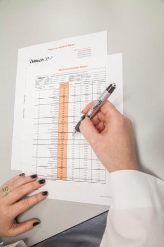 Лаборатории Alltech в Ирландии и США проводят анализ на 40 микотоксинов